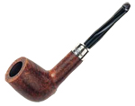 Peterson smoking pipe silver mounted army 106
